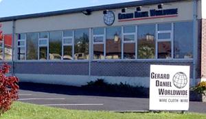 Gerard Daniel European Headquarters & Manufacturing Location  Mountmahon Industrial Estate Abbeyfeale, Co. Limerick, V94 KW59 Ireland