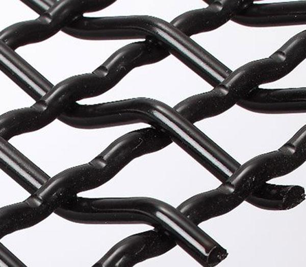 Close up of pre-crimped wire