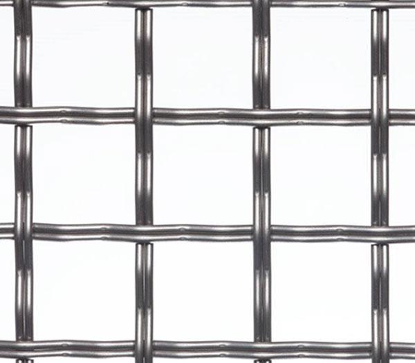 pre-crimped weaved wire
