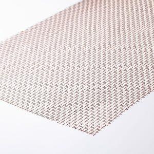 market grade bronze fly square plain weave