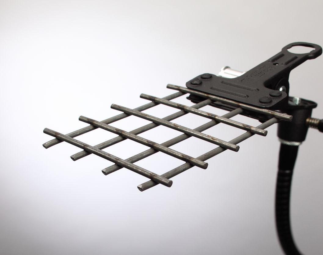 plain mesh steel welded bore finish