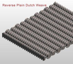 Reverse Plain Dutch Weave