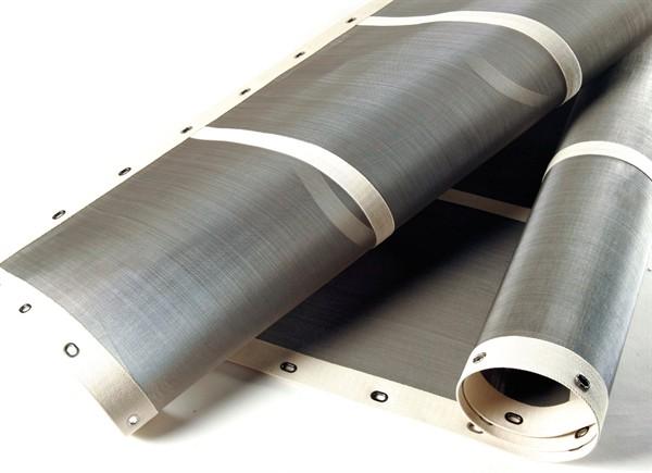 bonded edge mineral separator screens