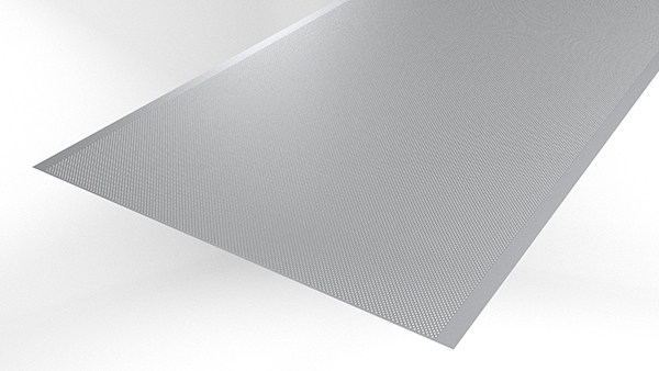Perferated steel sheet