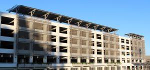 mesh for parking garages