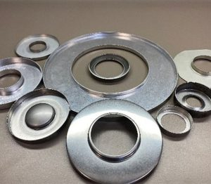 end caps and sheet metal stamping strainers