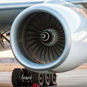 Jet engine for aerospace