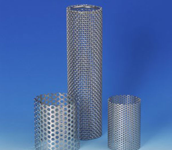 rolled tubes preforated metal