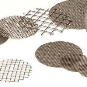 circular stamp mesh