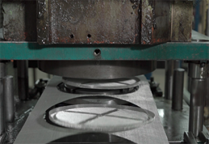 Stamping and Shearing for Filtration Components