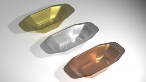 3 GDW perforated bowls